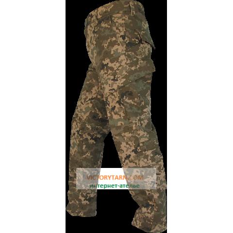 Полевые тактические брюки ACU, пиксель UA