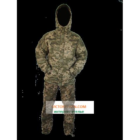 Тактический зимний костюм, пиксель UA