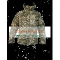 Тактическая куртка-бушлат AUS, пиксель UA (утепленная для зимы)