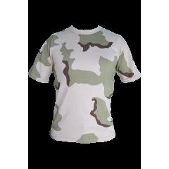 Футболка армейская T-17, пустыня 3-х цв.