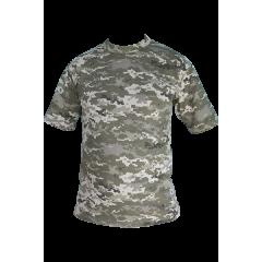 Футболка армейская  T-17, пиксель UA